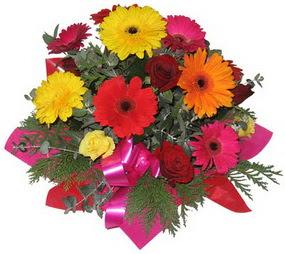 Karisik mevsim çiçeklerinden buket  Bursadaki çiçek cicek , cicekci