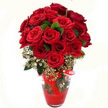 Online Bursa çiçekçi   9 adet kirmizi gül
