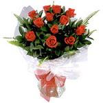Bursa çiçek büyük orhan yurtiçi ve yurtdışı çiçek siparişi  9 adet güzel bir gül buketi