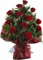 Çiçekçi bursa çiçek firması  9 Adet kirmizi gül buketi