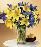 Çiçekçi Bursa sitesi nilüfer çiçek siparişi vermek  Lilyum ve mevsim  çiçegi özel