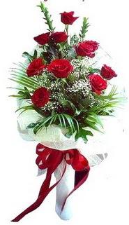 Bursa çiçek yolla osmangazi online çiçekçi , çiçek siparişi  10 adet kirmizi gül buketi demeti
