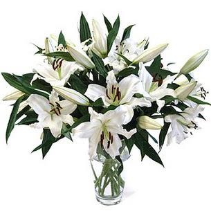Çiçekçi Bursa sitesi inegöl çiçek mağazası , çiçekçi adresleri  3 dal görsel casablanca vazo tanzimi