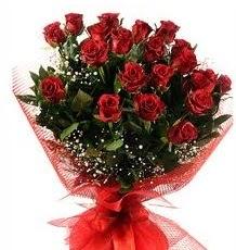 İlginç Hediye 21 Adet kırmızı gül  Bursadaki çiçekçi bursaya çiçek