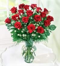 Bursa çiçek siparişi  9 adet mika yada vazoda kirmizi güller