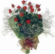 Bursa çiçekçiler nilüfer cicekciler , cicek siparisi  11 adet kirmizi gül,krep kagitta - ankara çiçekçi