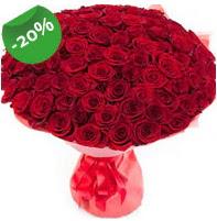 Özel mi Özel buket 101 adet kırmızı gül  Çiçekçi Bursa sitesi nilüfer çiçek siparişi vermek