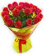 19 Adet kırmızı gül buketi  Bursa çiçek karacabey çiçekçi telefonları