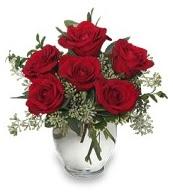 Vazo içerisinde 5 adet kırmızı gül  Bursa çiçek siparişi