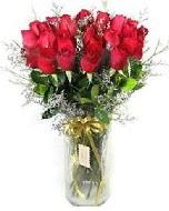 27 adet vazo içerisinde kırmızı gül  Bursa çiçekçiler nilüfer cicekciler , cicek siparisi