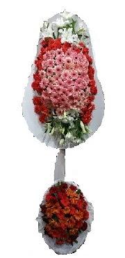 çift katlı düğün açılış sepeti  Bursa çiçek siparişi