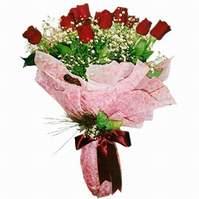 Online Bursa çiçekçi  12 adet kirmizi kalite gül