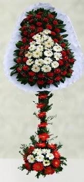 Bursa çiçek siparişi  çift katlı düğün açılış çiçeği