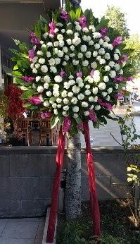 Bursadaki çiçekçi bursaya çiçek  Cenaze Çelengi  Online Bursa çiçekçi
