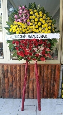 Çiçekçi Bursa sitesi nilüfer çiçek siparişi vermek  Cenaze çiçek modeli