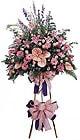 Bursa çiçek kestel uluslararası çiçek gönderme   Ferforje Pembe kazablanka