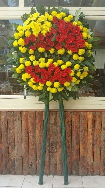 Cenaze çelengi çiçek modeli  Bursa çiçek mustafa kemal paşa çiçek siparişi sitesi