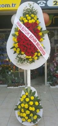 Çift katlı düğün nikah açılış çiçek modeli  Bursa çiçek siparişi