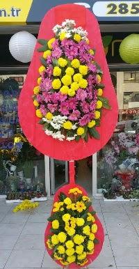 Çift katlı düğün nikah açılış çiçek modeli  Çiçekçi Bursa sitesi orhangazi çiçek satışı