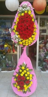 Çift katlı düğün nikah açılış çiçek modeli  Çiçekçi bursa çiçek firması