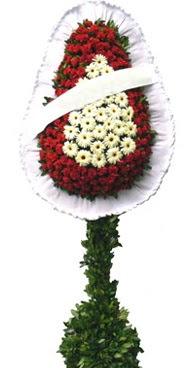 Çift katlı düğün nikah açılış çiçek modeli  Bursa çiçekçiler nilüfer cicekciler , cicek siparisi