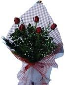 Bursa çiçek siparişi  5 adet kirmizi güllerden buket
