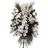 Bursadaki çiçekçiler bursaya çiçek yolla  Ferforje beyaz renkli kazablanka