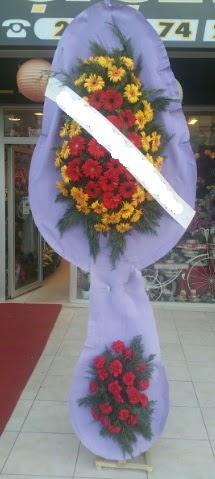 Çift katlı nikah düğüne çiçek modeli  Bursadaki çiçekçi bursaya çiçek