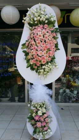 Çift katlı özel şahane sepet çiçeği  Çiçekçi Bursa sitesi inegöl çiçek mağazası , çiçekçi adresleri