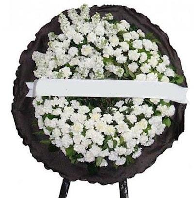 Cenaze çelengi çiçeği modelleri  Bursa çiçek siparişi