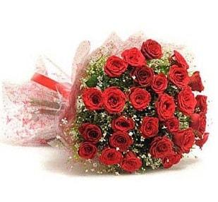 27 Adet kırmızı gül buketi  Bursa çiçek yolla osmangazi online çiçekçi , çiçek siparişi