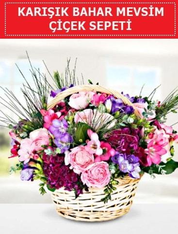 Karışık mevsim bahar çiçekleri  Bursa çiçek yolla osmangazi online çiçekçi , çiçek siparişi