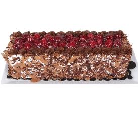 4 ile 6 kişilik Frambuazlı Baton yaş pasta