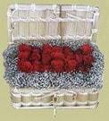 Bursa çiçek ucuz çiçek gönder  Sandikta 11 adet güller - sevdiklerinize en ideal seçim